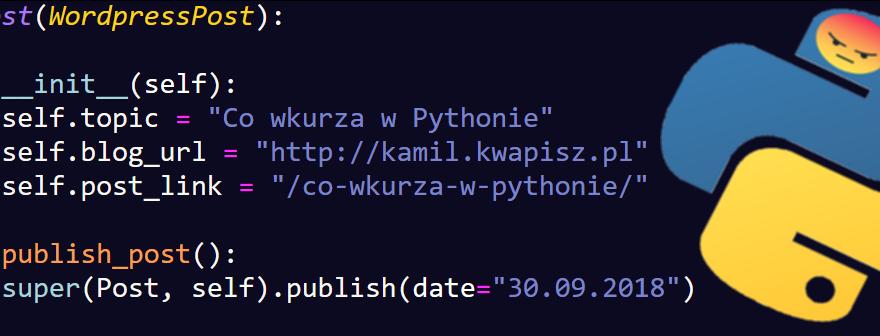 Co wkurza w Pythonie?
