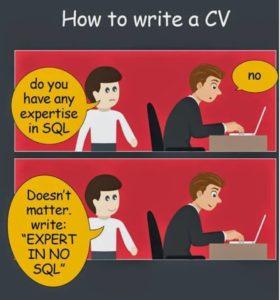 NoSQL cv