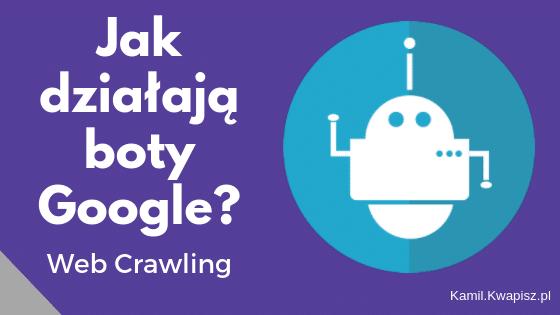 Jak działają boty Google? web crawling