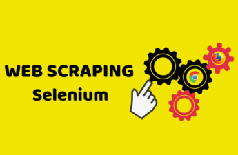 web scraping selenium