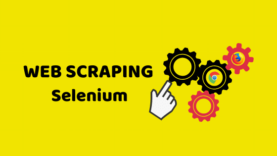 web scraping selenium
