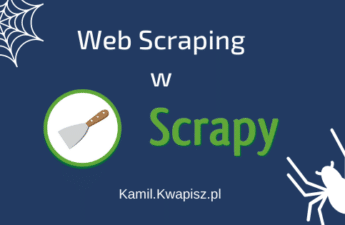 Web Scraping w Scrapy